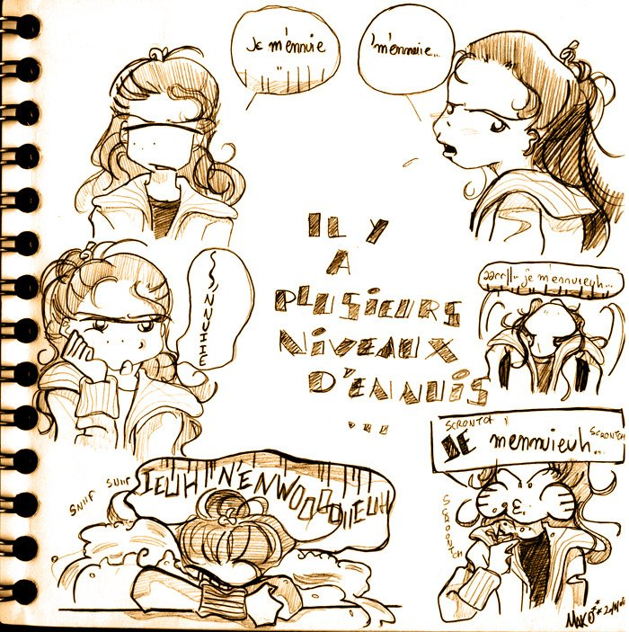doodle ennui